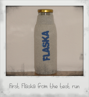 First Flaska from the test run